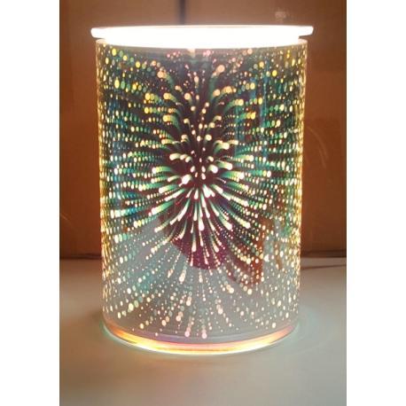 Brûleur de cire électrique effets 3D TUMBLER FEU D ARTIFICE