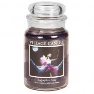 Grande Jarre 2 mèches SUGARPLUM FAIRY Village Candle