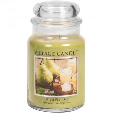Grande Jarre 2 mèches GINGER PEAR FIZZ Village Candle