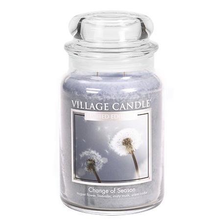 Grande Jarre 2 mèches CHANGE OF SEASON Village Candle