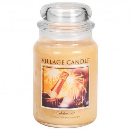 Grande Jarre 2 mèches CELEBRATION Village Candle