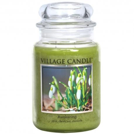 Grande Jarre 2 mèches AWAKENING Village Candle