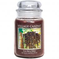 Grande Jarre 2 mèches ACAI BERRY TOBAC Village Candle