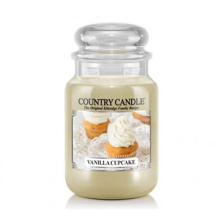 Grande Jarre 2 mèches VANILLA CUPCAKE Country Candle