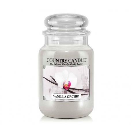 Grande Jarre 2 mèches VANILLA ORCHID Country Candle