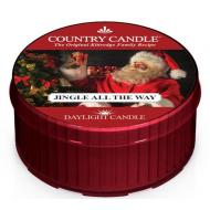 Daylight candle JINGLE ALL THE WAY Country Candle