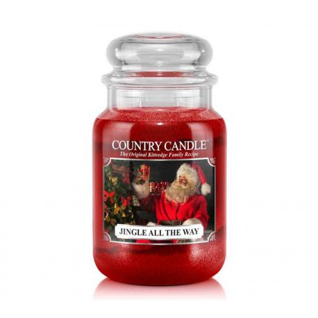 Grande Jarre 2 mèches JINGLE ALL THE WAY Country Candle