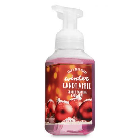 Savon mousse WINTER CANDY APPLE Bath and Body Works