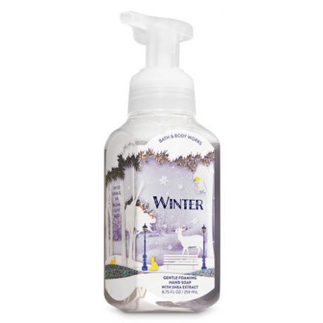 Savon mousse WINTER Bath and Body Works Hand Soap