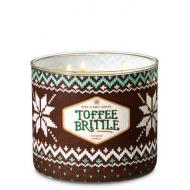 Bougie 3 mèches TOFFEE BRITTLE Bath and Body Works