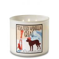 Bougie 3 mèches TOASTED VANILLA CHAI Bath and Body Works