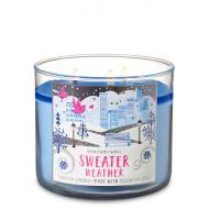 Bougie 3 mèches SWEATER WEATHER Bath and Body Works