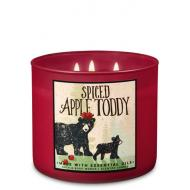 Bougie 3 mèches SPICED APPLE TODDY Bath and Body Works