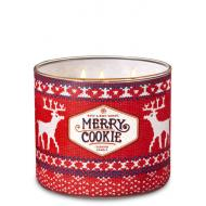 Bougie 3 mèches MERRY COOKIE Bath and Body Works