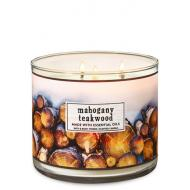 Bougie 3 mèches MAHOGANY TEAKWOOD Bath and Body Works