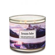 Bougie 3 mèches FROZEN LAKE Bath and Body Works
