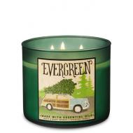 Bougie 3 mèches EVERGREEN Bath and Body Works