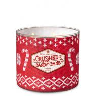 Bougie 3 mèches CRUSHED CANDY CANE Bath and Body Works