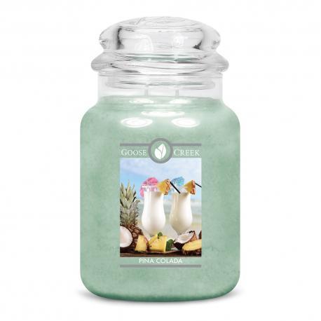 Bougie parfumée Grande Jarre 2 mèches PINA COLADA Goose Creek Candle US USA