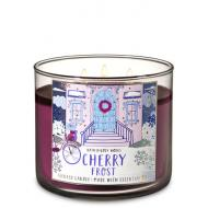 Bougie 3 mèches CHERRY FROST Bath and Body Works