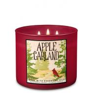 Bougie 3 mèches APPLE GARLAND Bath and Body Works