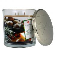 Bougie parfumée 3 mèches ROASTED CHESTNUTS Sonoma candle US USA Difmu