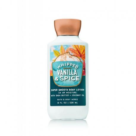 Lait pour le corps WHIPPED VANILLA AND SPICE Bath and Body Works