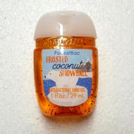 Gel antibactérien FROSTED COCONUT SNOWBALL Bath and Body Works