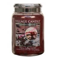 Grande Jarre 2 mèches CHERRY COFFEE CORDIAL Village Candle