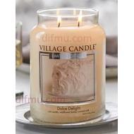 Grande Jarre 2 mèches DOLCE DELIGHT Village Candle