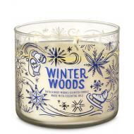 Bougie 3 mèches WINTER WOODS Bath and Body Works