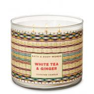 Bougie 3 mèches WHITE TEA AND GINGER Bath and Body Works