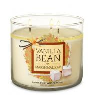 Bougie 3 mèches VANILLA BAN MARSHMALLOW Bath and Body Works