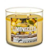 Bougie 3 mèches  LIMONCELLO Bath and Body Works