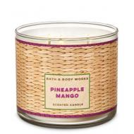 Bougie 3 mèches PINEAPPLE MANGO Bath and Body Works