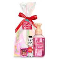Happy Hands Gift Set TWISTED PEPPERMINT Bath and Body Works