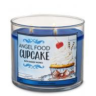 Bougie 3 mèches ANGEL FOOD CUPCAKE Bath and Body Works and Difmu
