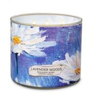 Bougie 3 mèches LAVENDER WOODS Bath and Body Works