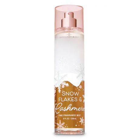 Brume parfumée SNOWFLAKES AND CASHMERE Bath and Body Works