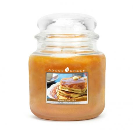 Moyenne Jarre 2 mèches MAPLE BUTTER Goose Creek Candle