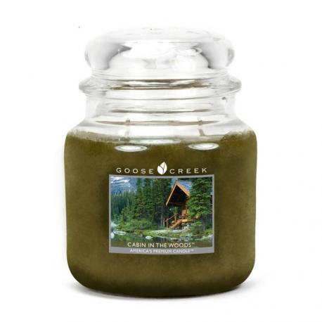 Moyenne Jarre 2 mèches CABIN IN THE WOODS Goose Creek Candle