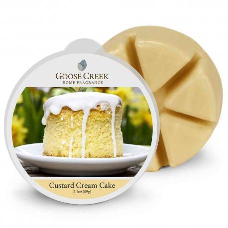 Cire parfumée CUSTARD CREAM CAKE Goose Creek Candle