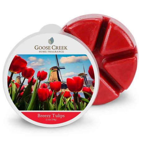 Cire parfumée BREEZY TULIPS Goose Creek Candle