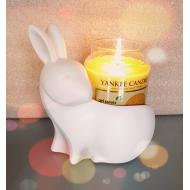 Jar Holder EASTER BUNNY Yankee Candle Lapin de Pâques US USA