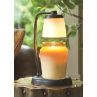 Lampe chauffante pour bougie CONTEMPO BRONZE BROSSE Difmu