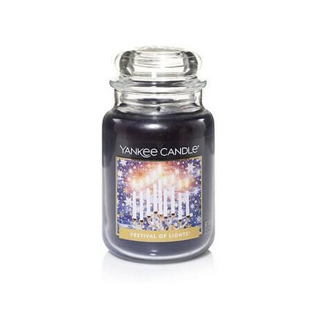 Grande Jarre FESTIVAL OF LIGHTS Yankee Candle Large Jar exclu US USA