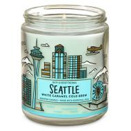 Bougie moyenne SEATTLE Bath and Body Works Difmu