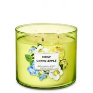 Bougie 3 mèches CRISP GREEN APPLE Bath and Body Works