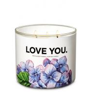 Bougie 3 mèches FRESH CUT LILACS Bath and Body Works