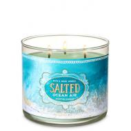 Bougie 3 mèches SALTED OCEAN AIR Bath and Body Works